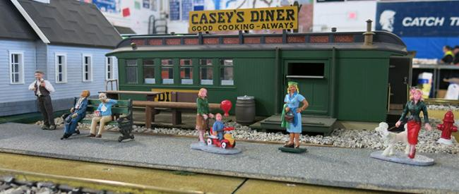 Casey's Diner on Big Green - Milford 2014